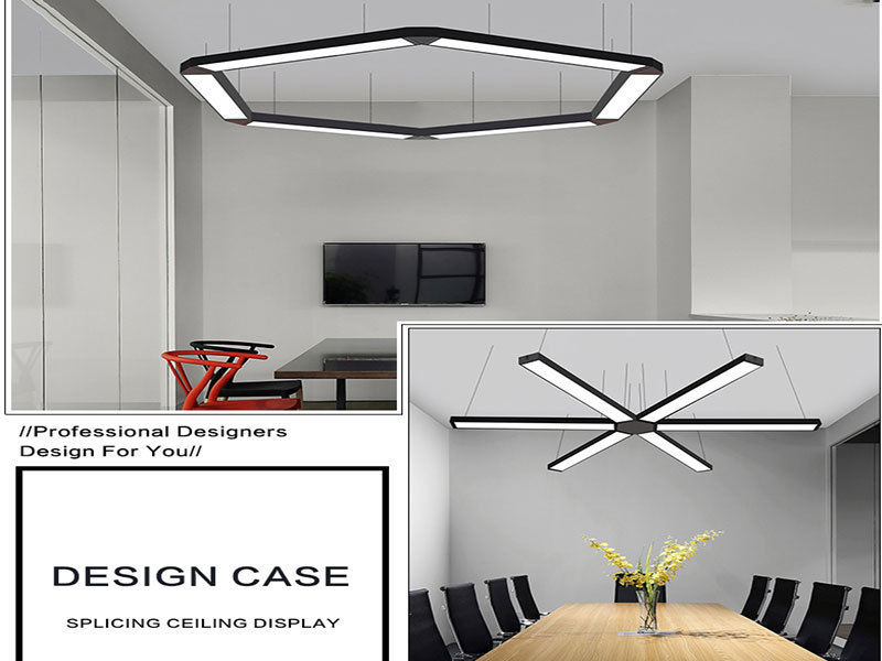 Pendant Panel Light Application places