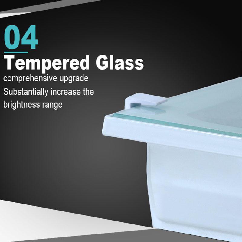 Kons-Led Smd Flood Light White Color 50w100w200w 150° Beam Ip66 Waterproof