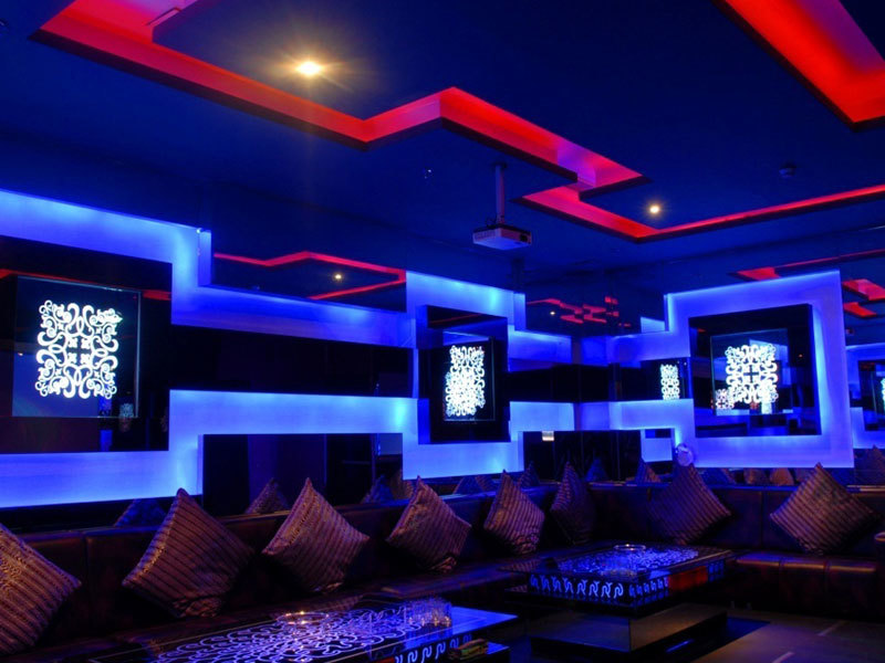 Project 1-Armani KTV decoration lighting project
