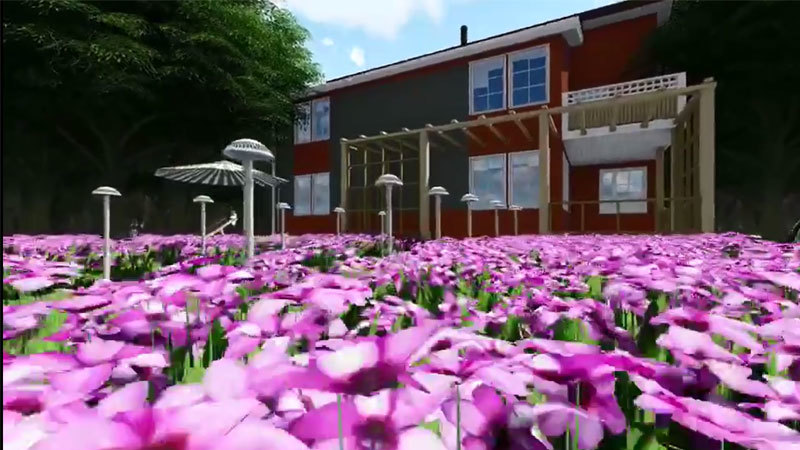 Landscape Path Lighting Video