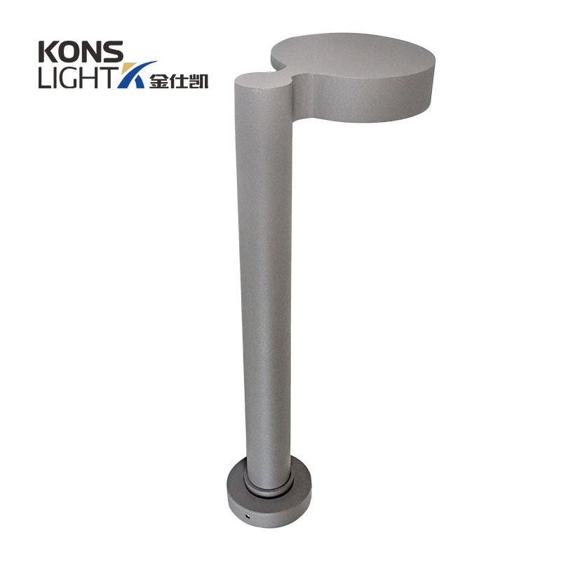 10W LED Lawn Light 120° Beam 3000K waterproof aluminum housing