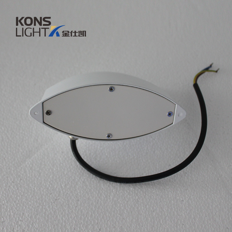 Kons 6W bothway LED Wall Light COB LED Chip Aluminum & Tempered Glass Wall light image1