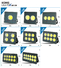 resist years led flood light manufacturers Kons manufacture