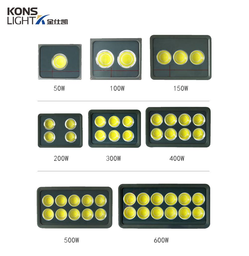 led flood light manufacturers aluminum glass led garden flood lights ip66 Kons Brand