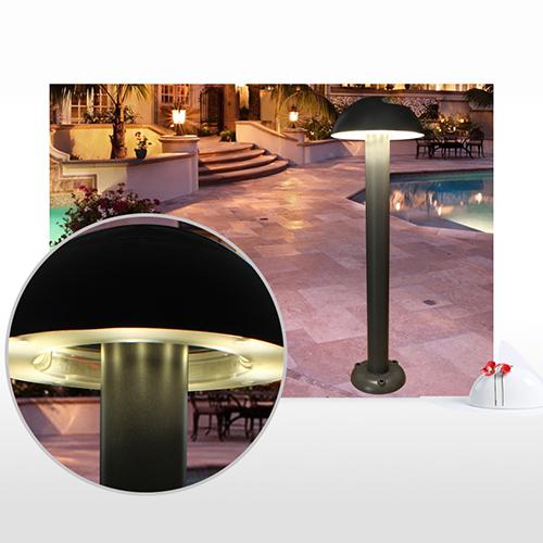 Kons-High-quality 10w Led Lawn Light Aluminum+pvc Housing Ip65-4