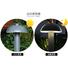 beam waterproof aluminum garden post lights Kons Brand
