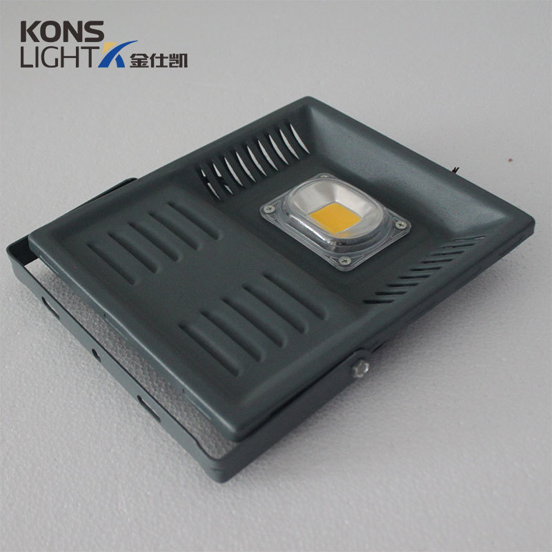 LED COB Flood Light 50W IP65 Die-casting aluminium+Acrylic 3000K-6000K