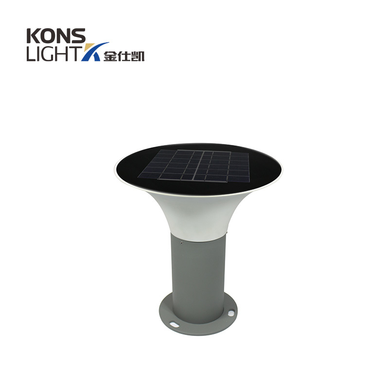 5W LED Solar Lawn Light 3000K/6000K 267mm inner switch IP65