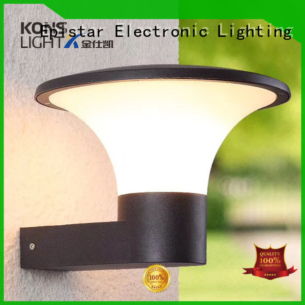 tempered glass Kons Brand contemporary outdoor wall lights factory