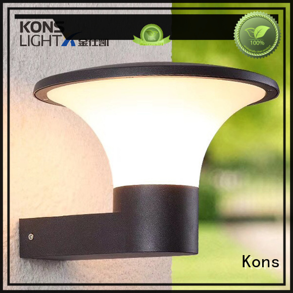 contemporary outdoor wall lights housing outdoor Kons Brand