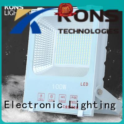led flood light manufacturers corrosion diecasting Kons Brand led garden flood lights