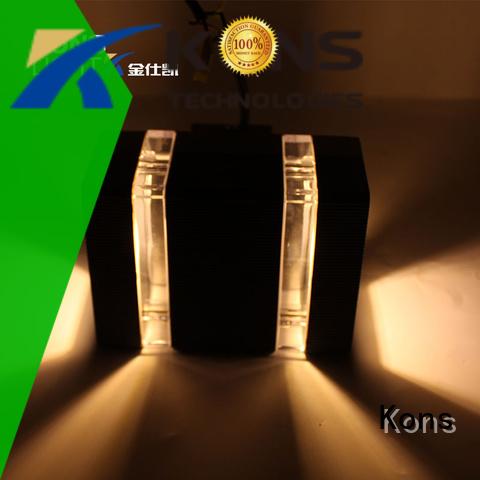 cob Custom luminous concise led outside wall lights Kons pc