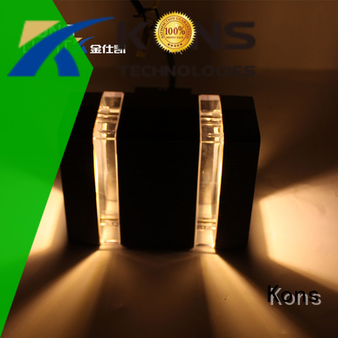 design contemporary outdoor wall lights aluminum Kons company
