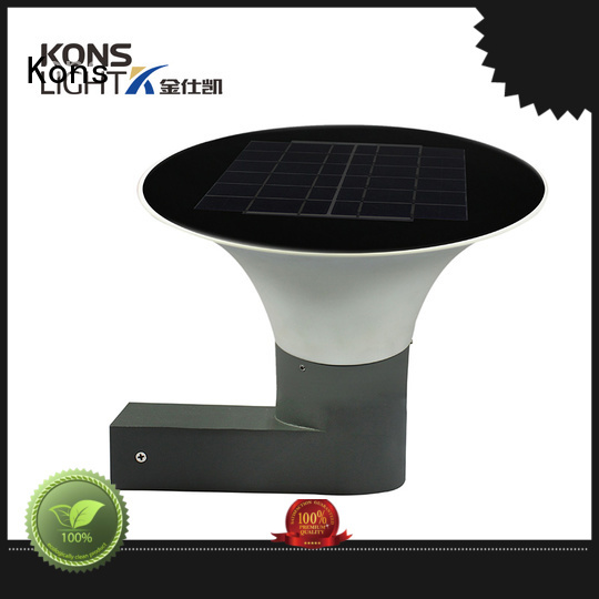 Custom material solar wall light waterproof Kons