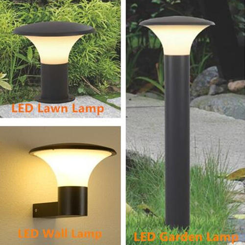 Kons-Exterior Led Wall Lights 12w Outdoor Led Wall Light Concise Design Aluminum-1