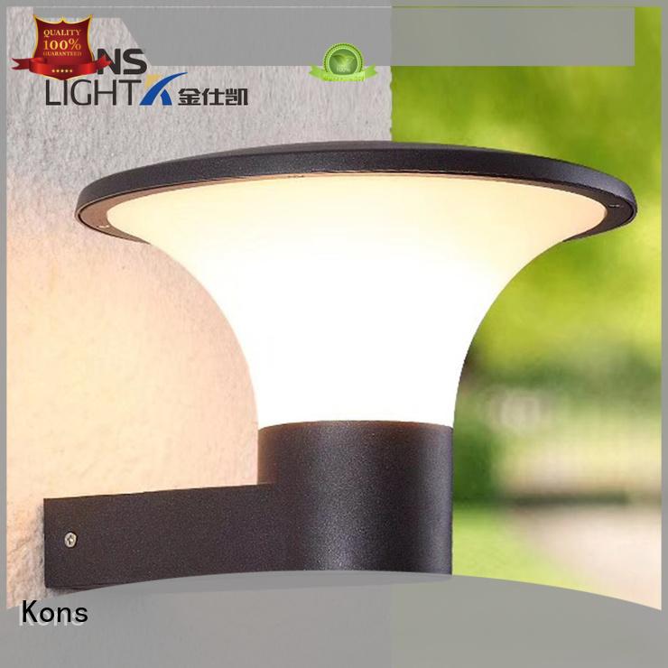 led aluminum chip glass led outside wall lights Kons