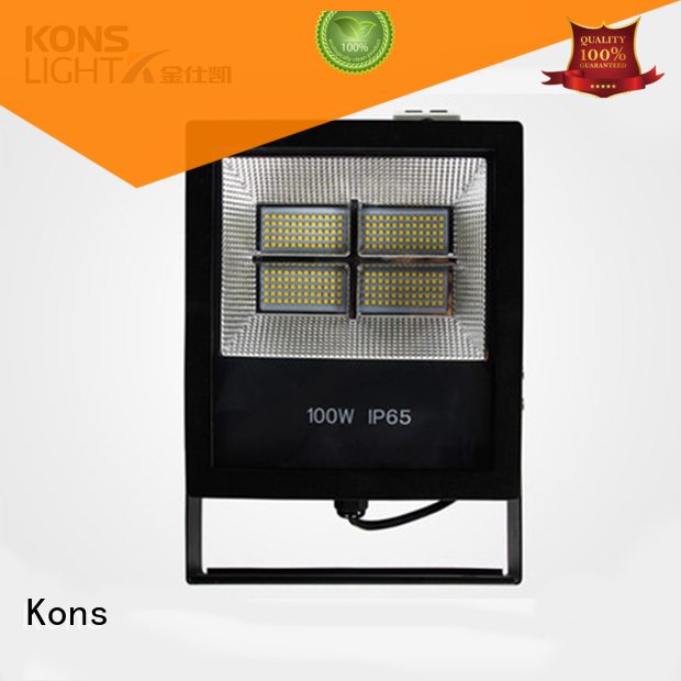 glass pressure led garden flood lights Kons Brand