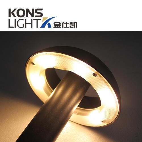 Kons-Landscape Path Lighting, 10w Led Lawn Light Aluminum+pvc Housing Ip65-2