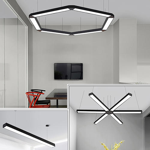 Kons-9-72w Led Pendant Panel Light 3000k-6000k Modern Concise Style | Led Pendant-1