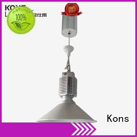heigh cylindrical automatic windproof lighting lifts Kons
