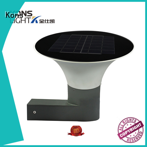Kons Brand abs bright solar lights led supplier