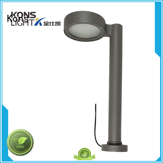 Kons Brand pvc wood garden post lights