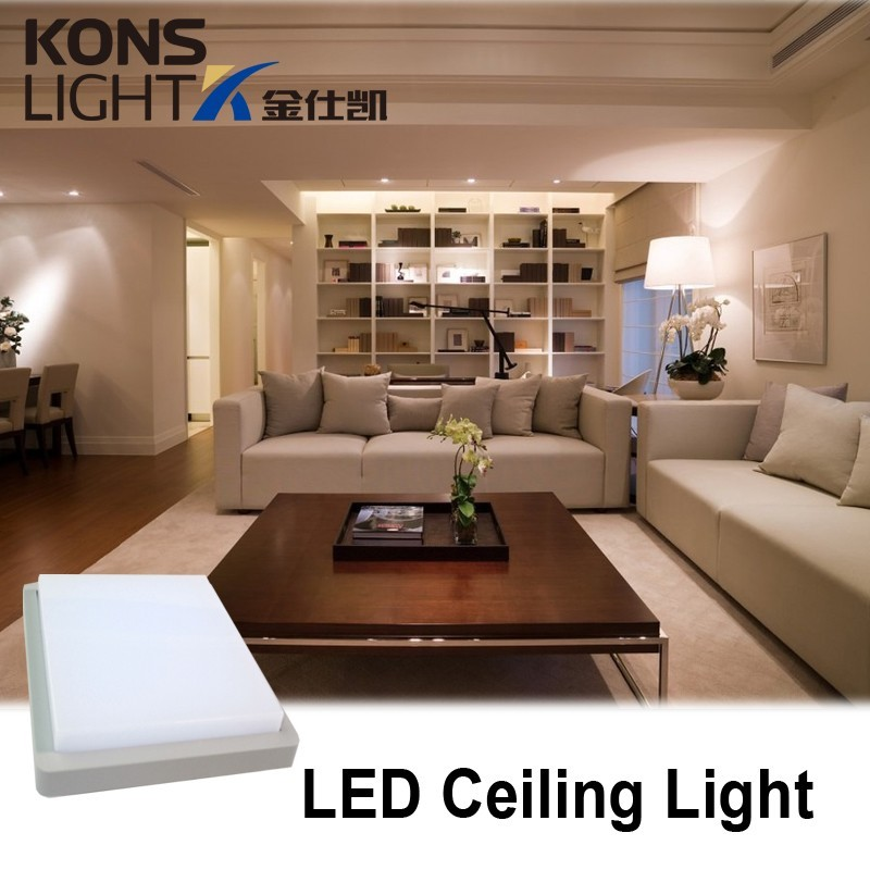 square ceiling concise Kons Brand led office lighting manufacture