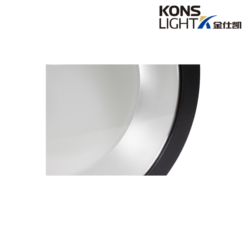 die-casting led black aluminum Kons Brand down light supplier