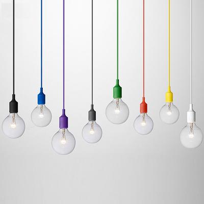 LED Hanging Light Cover-Plastics+Nylon Pendant lamp Ceiling lamp
