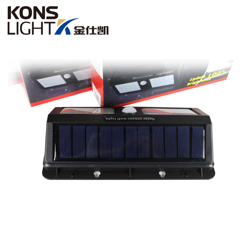 outdoor switch ip65 solar wall light energy saving Kons Brand