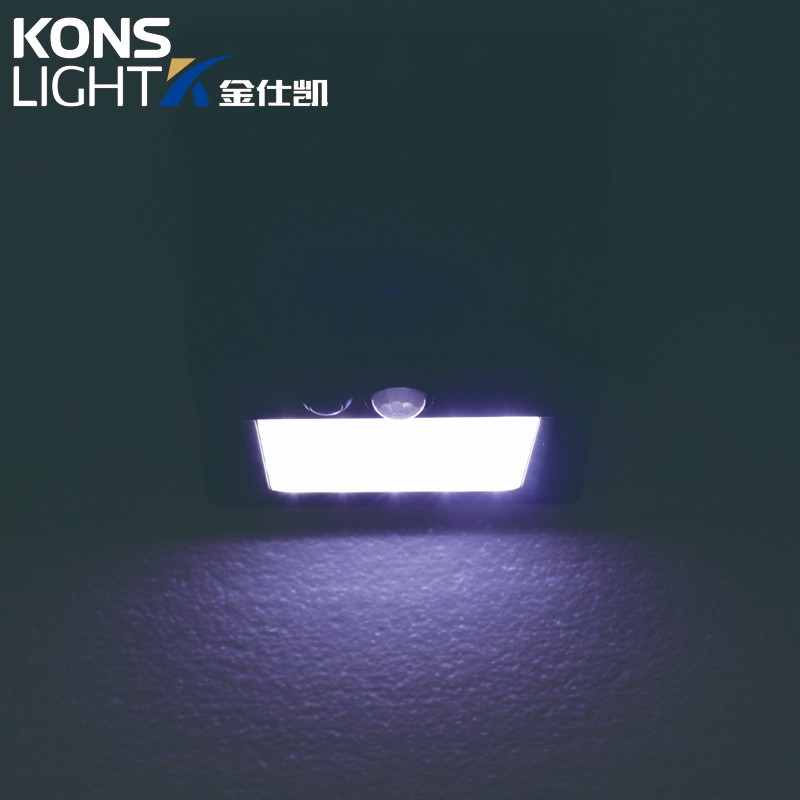 white warm bright solar lights outdoor ip65 Kons Brand