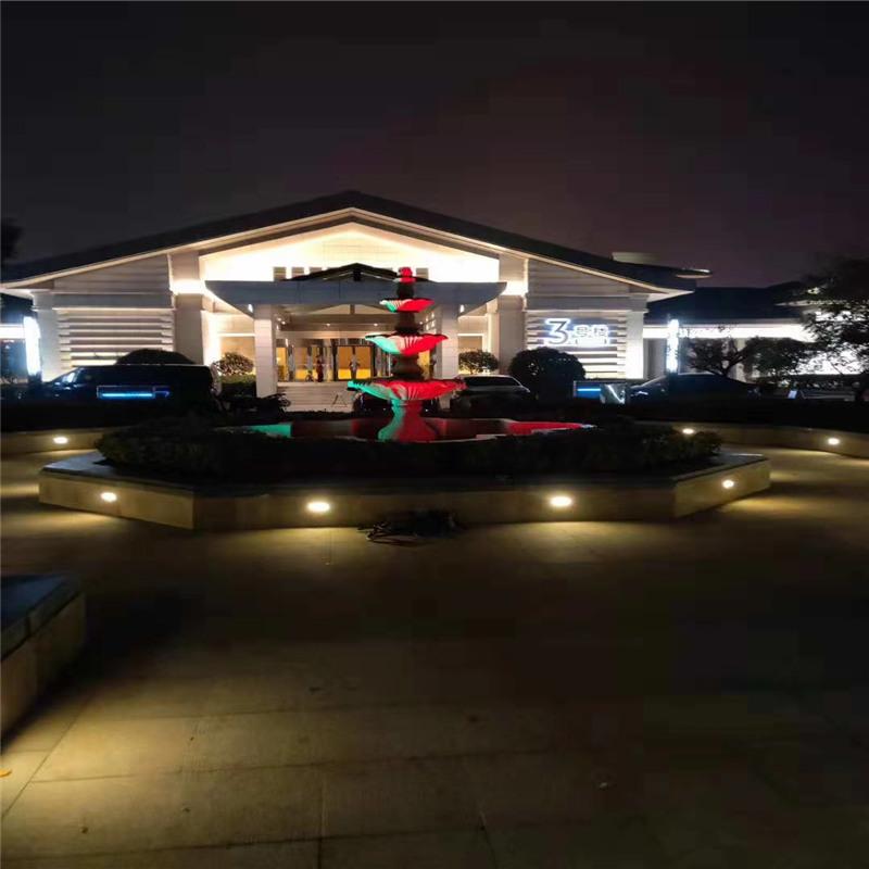 Shan dong lin yi hotel outdoor lights
