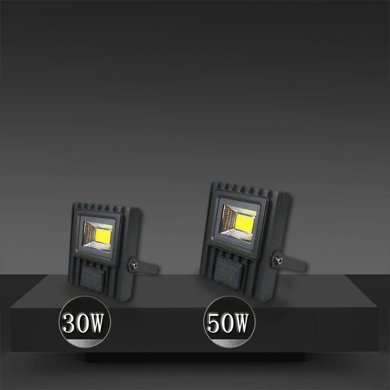 Outdoor Waterproof LED Spotlight 30W-200W Outdoor Advertising Signboard Construction Site Tunnel Plaza Lighting LED Spotlight
