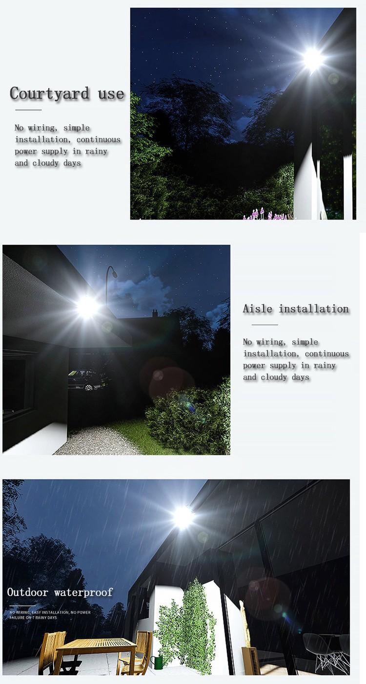 Kons-Led Landscape Flood Lights | Waterproof Solar Lamp Outdoor Spotlight 30w-90w-4