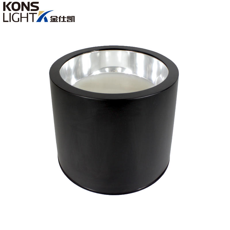 Kons-Best Ceiling Downlights Led Downlight 35w Black Die-casting Aluminum Manufacture