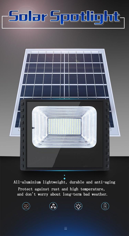 Kons-Led Landscape Flood Lights | Waterproof Solar Lamp Outdoor Spotlight 30w-90w
