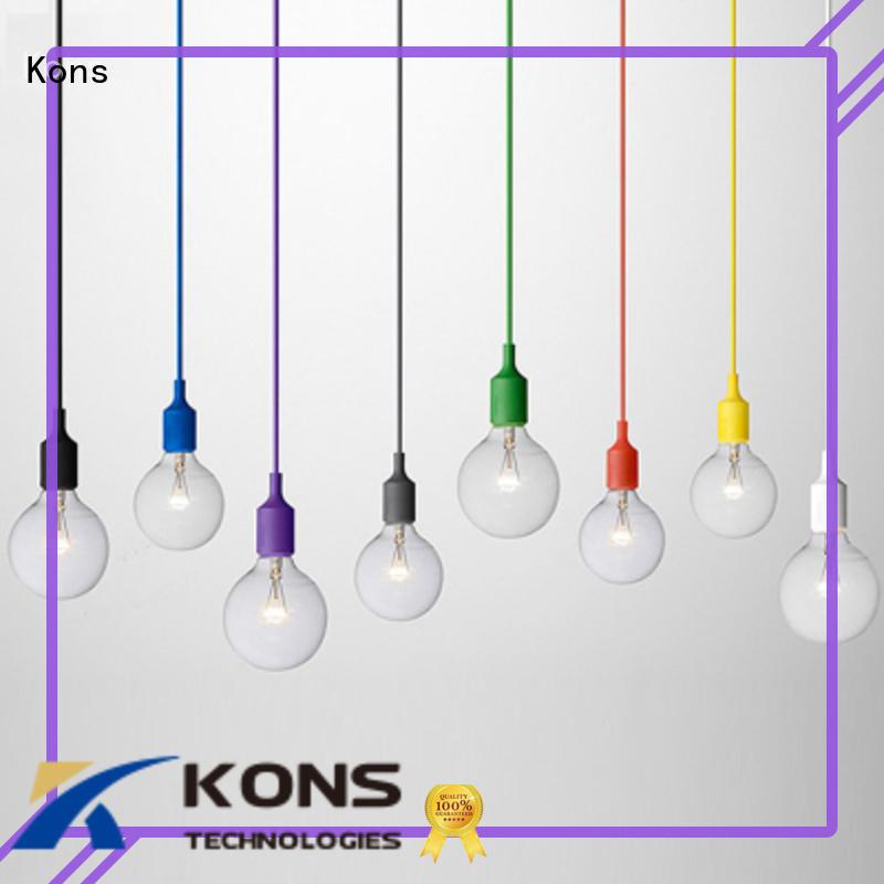 Kons Brand hanging led hanging pendant lights nylon