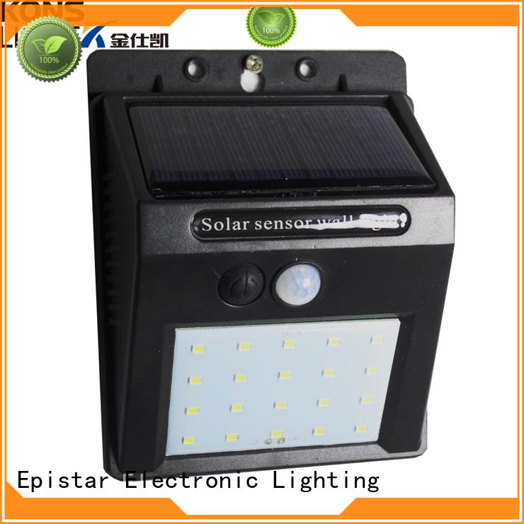 inner ip65 led solar wall light Kons Brand