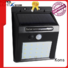 bright solar lights ip65 led inner solar wall light manufacture