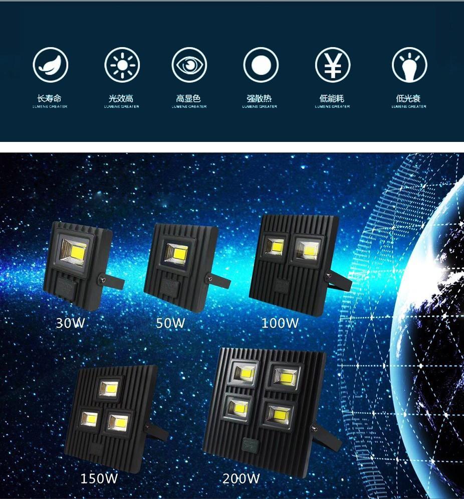 Kons-Find Led Indoor Flood Lights led Garden Flood Lights On Epistar Electronic-1